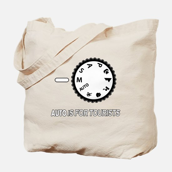 Auto is for tourists Tote Bag