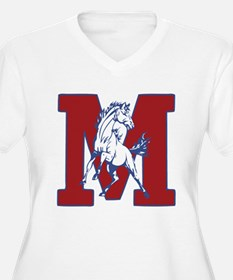 Mason Mustangs Plus Size T-Shirt