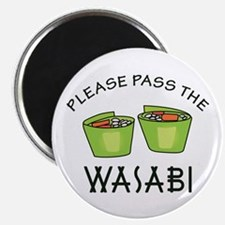 PASS THE WASABI Magnets