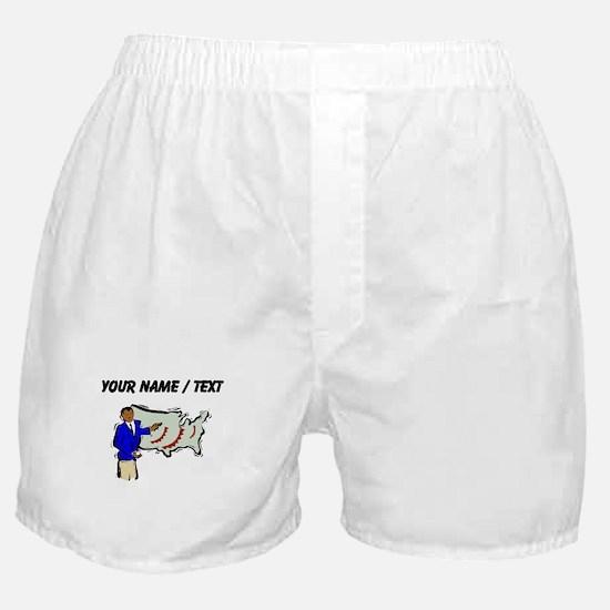 Weather Reporter (Custom) Boxer Shorts