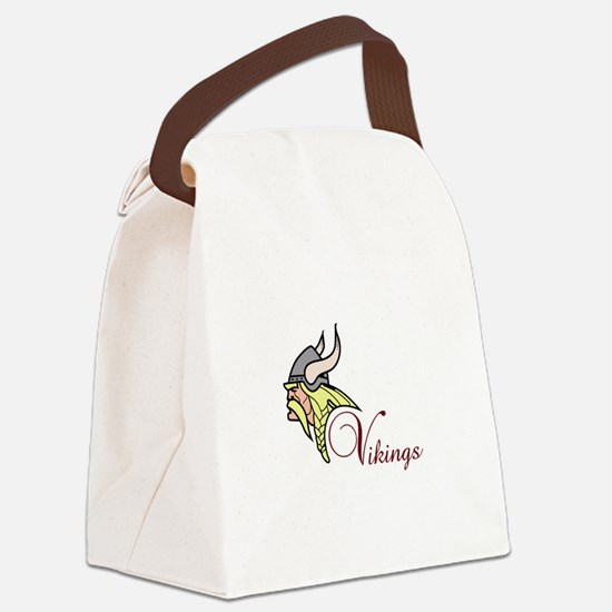 VIKINGS Canvas Lunch Bag