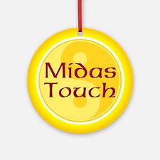 Midas Touch Ornament (Round)