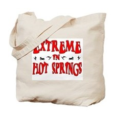 Extreme Hot Springs Tote Bag