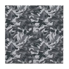 Urban Camo Tile Coaster