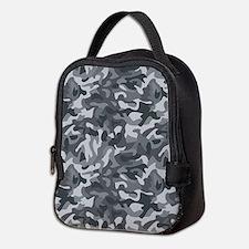 Urban Camo Neoprene Lunch Bag