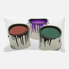 Paint cans Pillow Case