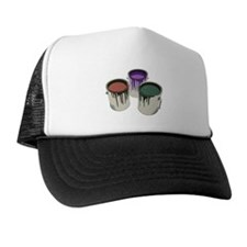 Paint cans Trucker Hat