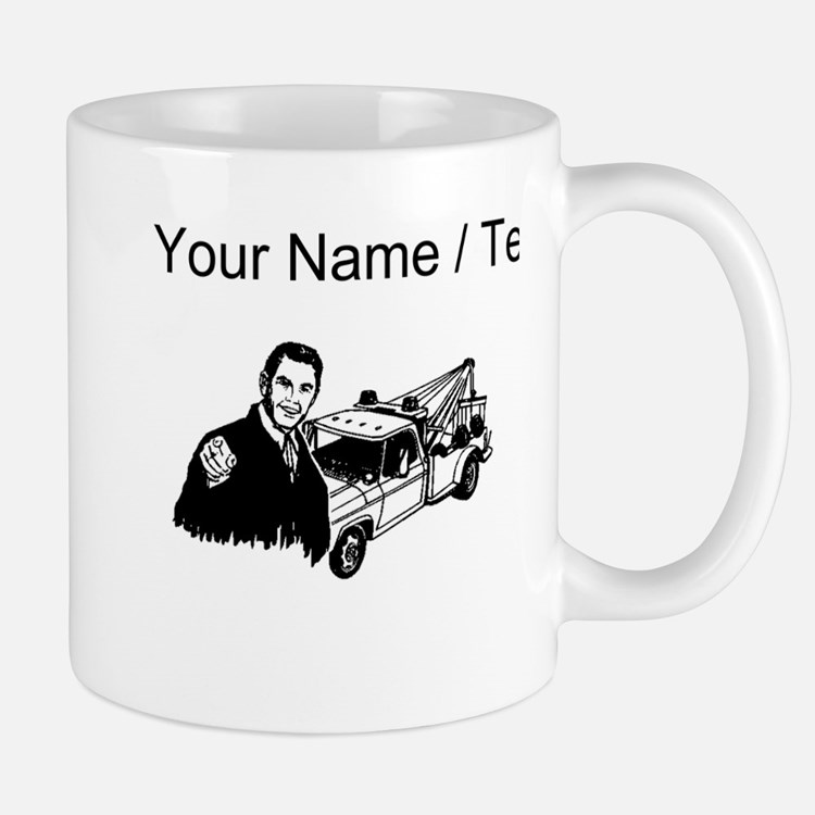 Tow Truck Driver (Custom) Mugs
