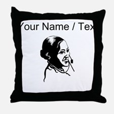 Telephone Operator (Custom) Throw Pillow