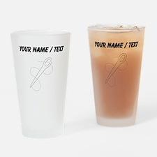 Needle And Thread (Custom) Drinking Glass