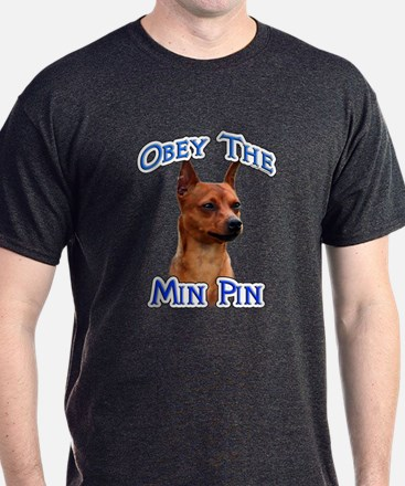 Min Pin Obey T-Shirt