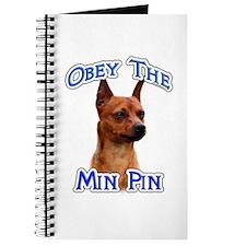 Min Pin Obey Journal