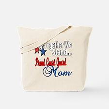Coast Guard Mom Tote Bag