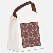 Patchwork Quilt Canvas Lunch Bag