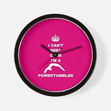 Powertumbling Wall Clock
