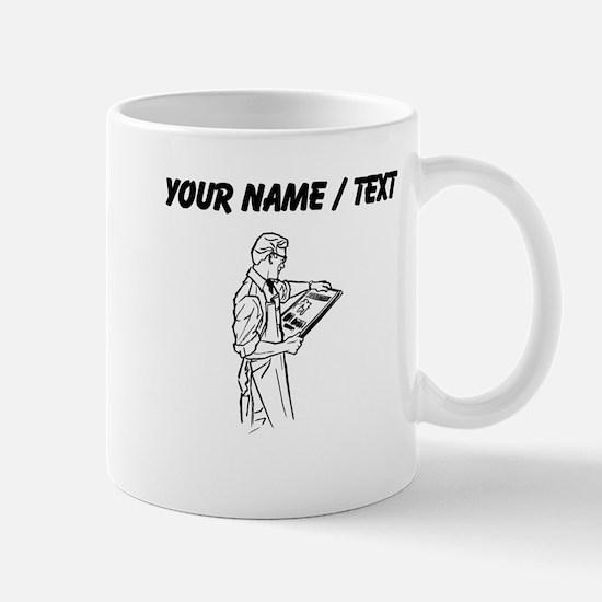Newspaper Printer (Custom) Mugs