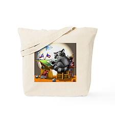 Artraccoon Studio Tote Bag