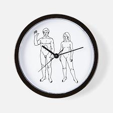 Nude Couple Wall Clock