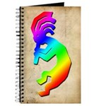 Rainbow Kokopelli Journal