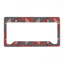 Patchwork Quilt License Plate Holder