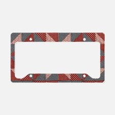 Patchwork Quilt License Plate Holder