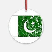 Vintage Pakistan Ornament (Round)