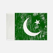 Vintage Pakistan Rectangle Magnet