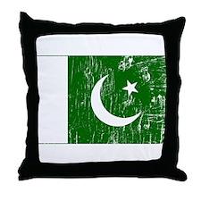 Vintage Pakistan Throw Pillow