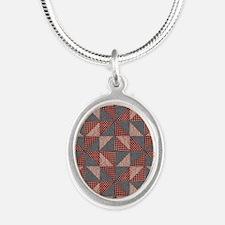 Patchwork Quilt Necklaces