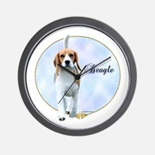 Beagle Portrait Wall Clock