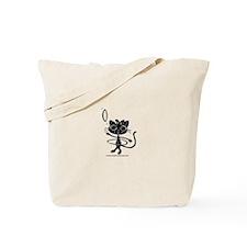 Ameilia Hoop Extraordinaire in Black Tote Bag