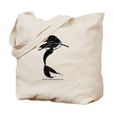 Unique Hula hooping Tote Bag