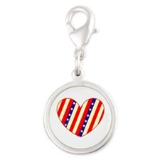 Heart Stars Stripes Amor for Carlo Charms
