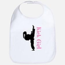 Martial Arts Girls Bib