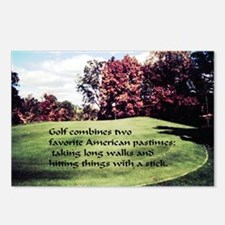 Favorite Pastime Postcards (Package of 8)