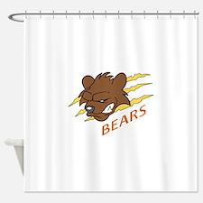 BEARS TEAM Shower Curtain