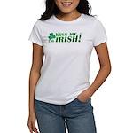 Kiss Me Irish Clover Women's T-Shirt