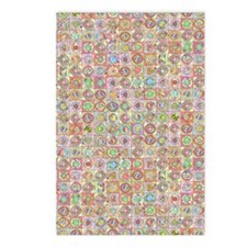 Doughnut pattern  Postcards (Package of 8)
