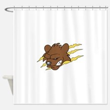BEAR MASCOT Shower Curtain
