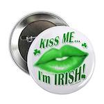 Kiss Me Irish Button (100 pk)