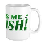 Kiss Me Irish Clover Large Mug