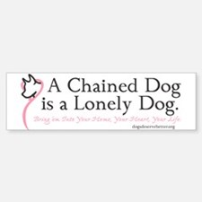 Lonely Dog (bumper) Bumper Bumper Bumper Sticker