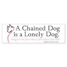 Lonely Dog (bumper) Bumper Bumper Sticker