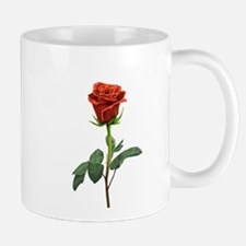 long stem red rose for valentines day Mugs