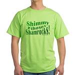 Shimmy Shamrocks Green T-Shirt