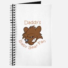 DADDYS BABY BEAR FAN Journal