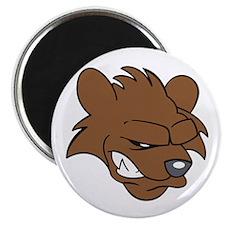 BEAR HEAD Magnets
