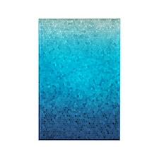 108872005 Sea Glass Rectangle Magnet