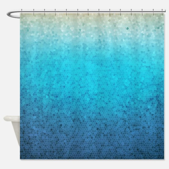 108872005 Sea Glass Shower Curtain