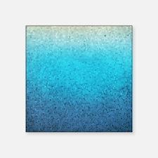 """108872005 Sea Glass Square Sticker 3"""" x 3"""""""
